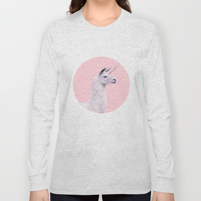 UNICORN LAMA Long Sleeve T-shirt