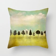 IN RANK AND FILE Throw Pillow