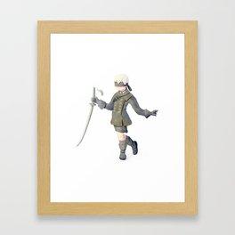 Nier: Automata 9S Framed Art Print