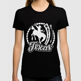 Native Texas Cowboy Horse Riding T-shirt