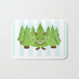 Tree Monster Forest Bath Mat
