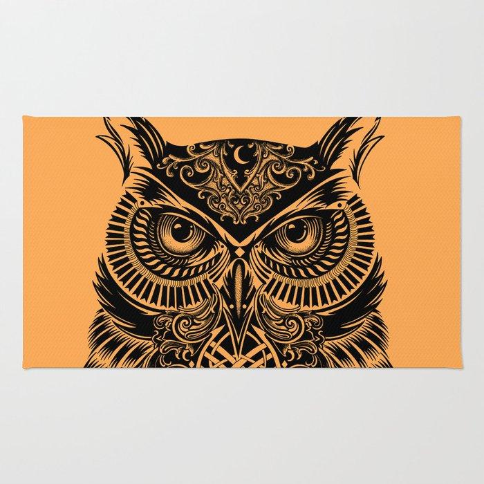 Warrior Owl 2 Rug