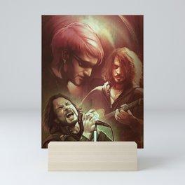 Grunge Tribute Mini Art Print