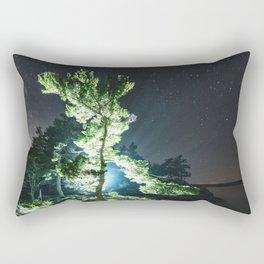 Pine of Night Rectangular Pillow