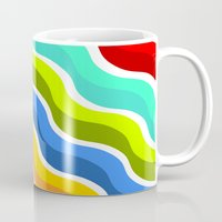 bacon Mugs featuring Bacon by Roberlan Borges