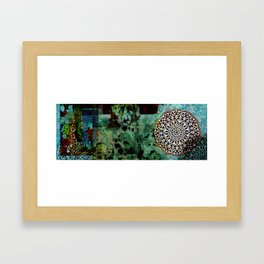 Persian Pattern Framed Art Print