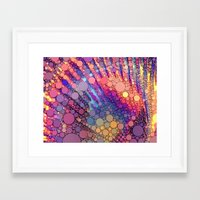 bubbles Framed Art Prints featuring bubbles by Sylvia Cook Photography
