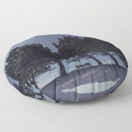 Halo of the North Floor Pillow
