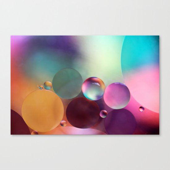 life is sweet Canvas Print