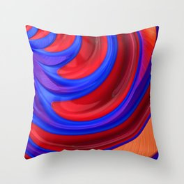 Beautiful Abstract Art by Raphael Terra Throw Pillow