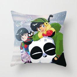 Ranma 1/2 Winter Edition Throw Pillow