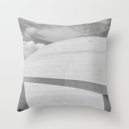 Niemeyer   architect   National Museum Throw Pillow