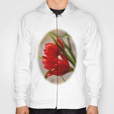 Red Blooming Hoody