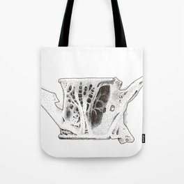 Fish Vertebrae Study Tote Bag