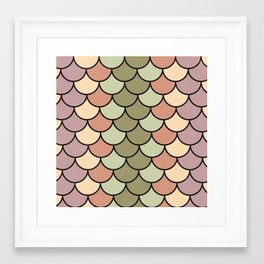 Beach Palette Framed Art Print