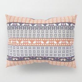Fair Isle Christmas Guinea pig Pattern Pillow Sham