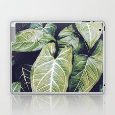 Jungle leaf - vintage Laptop & iPad Skin
