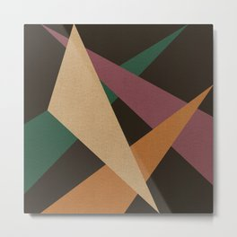 GEOMETRIC ABSTRACT 2 Metal Print