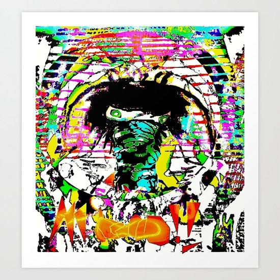 Mooooooo!! Art Print