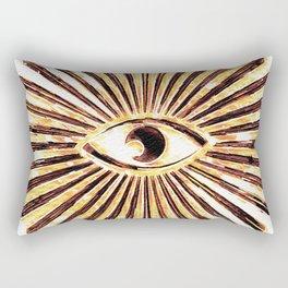 The All-Seeing Eye Rectangular Pillow