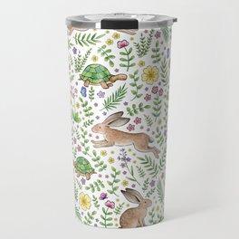 Spring Time Tortoises and Hares Travel Mug
