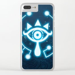 The blue eye Clear iPhone Case