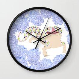 Loopy Lizard Wall Clock