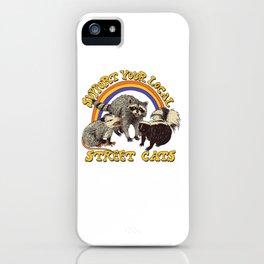 Street Cats iPhone Case