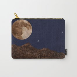 Vintage Angel Moon Carry-All Pouch