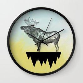 River Crossing Wall Clock
