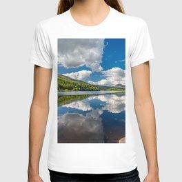 Llynnau Mymbyr Snowdonia T-shirt