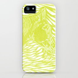 Abstract Silver by Robert S. Lee iPhone Case
