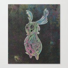 Spacebun Canvas Print
