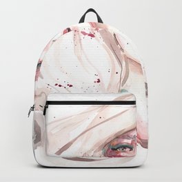 Dreamer beautiful watercolor illustration Backpack