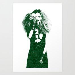 Fashion Lara Stone Calvin Klein Art Print