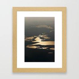 Let it Set Framed Art Print