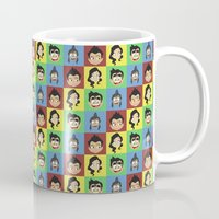 korra Mugs featuring Korra collage by tukylampkin