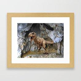 T Rex Classic Framed Art Print