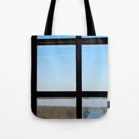 clear Tote Bags featuring Clear by the insight city