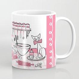 Baking Day Fun With Mister Kitty Coffee Mug