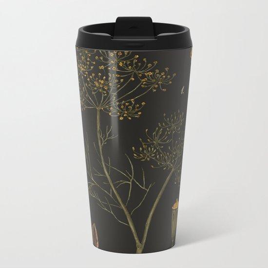 Dill (Dark Background) Metal Travel Mug