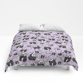 Cute Pandas Comforters