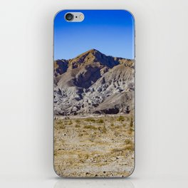 Looking Back towards Granite Mountain across the Highway in the Anza Borrego Desert State Park iPhone Skin