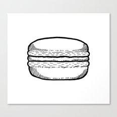 Macaron Canvas Print