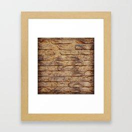 Gold Bars Framed Art Print