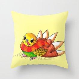 Turkeet Throw Pillow