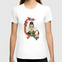 mulan T-shirts featuring Mulan Tattoo by Kathryn Hudson Illustrations