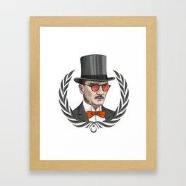 Mustafa Kemal Atatürk Framed Art Print