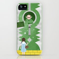Please Knock iPhone (5, 5s) Slim Case