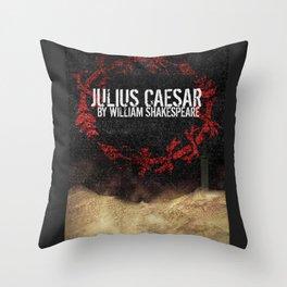 Julius Caesar by William Shakespeare, Milwaukee 2016 Throw Pillow